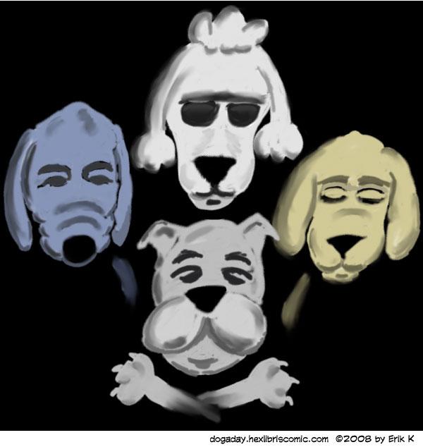 bohemian rhapsody dog image