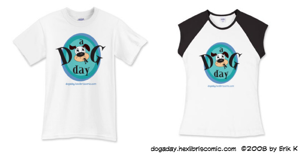 A Dog a Day shirt picture