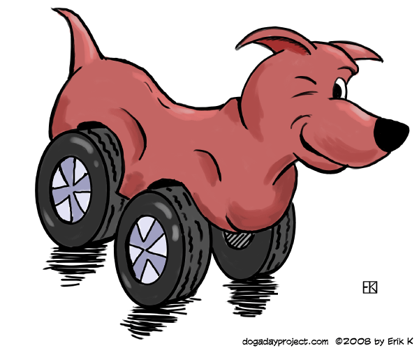 """dog a dog """"dog tired"""" image"""