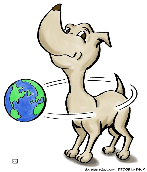 dog a day dog cosmology image