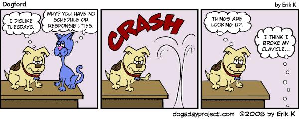 dog a day Dogford Comic Strip
