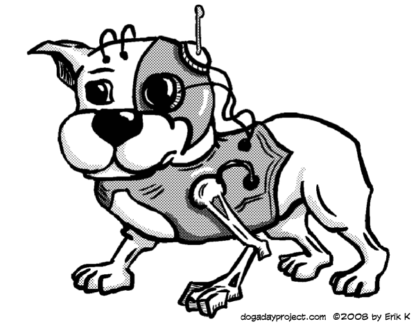 dog a day Cyborg Dog image