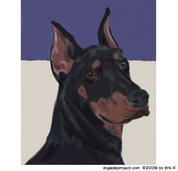 dog a day Ears image