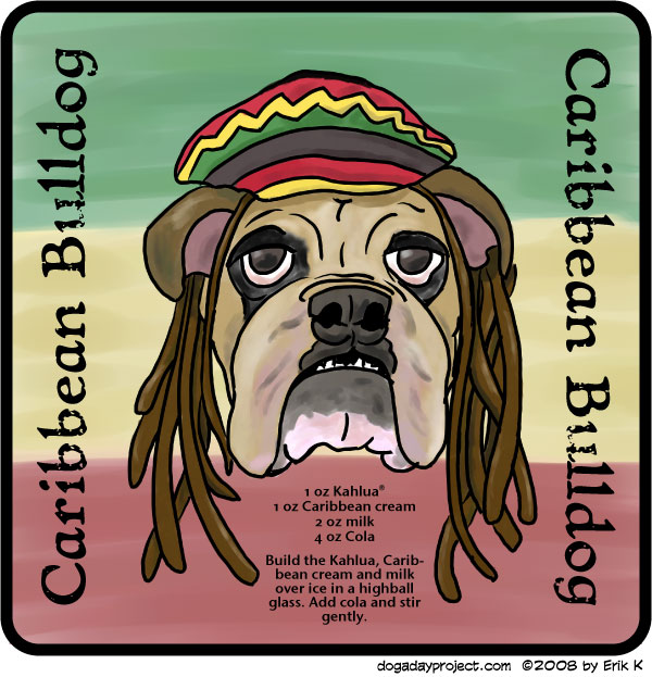 dog a day Caribbean Bulldog image.