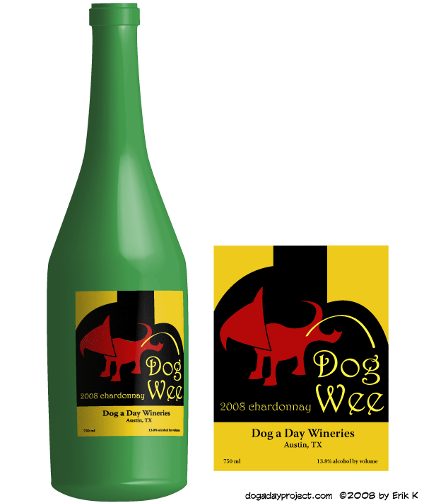 dog a day Dog Wee Wine image