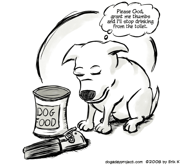 dog a day Canned image