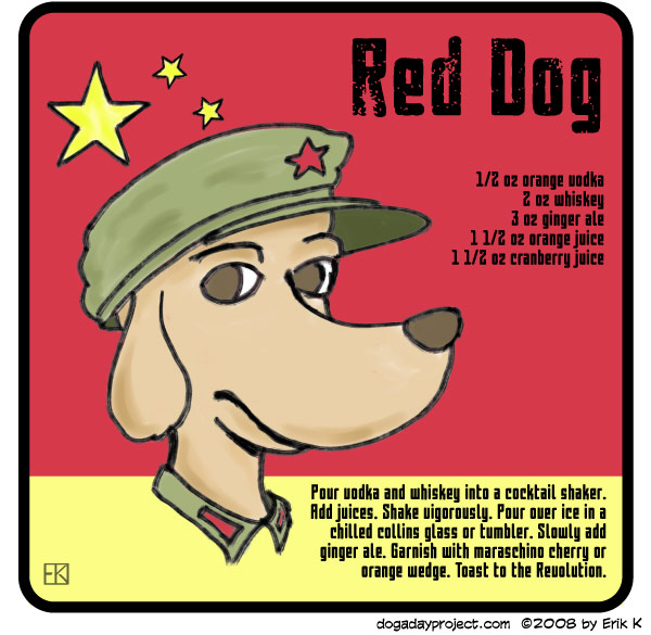 dog a day Red Dog Cocktail image