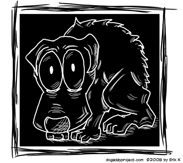 dog a day Spooked Dog image