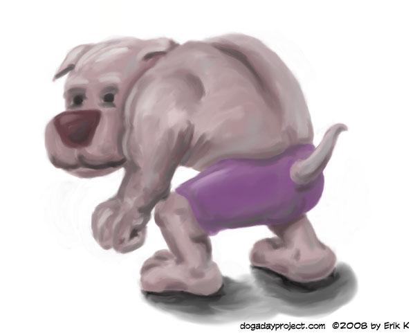 dog a day Hulking Dog image