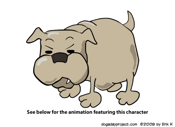dog a day Anime Studio Bulldog image