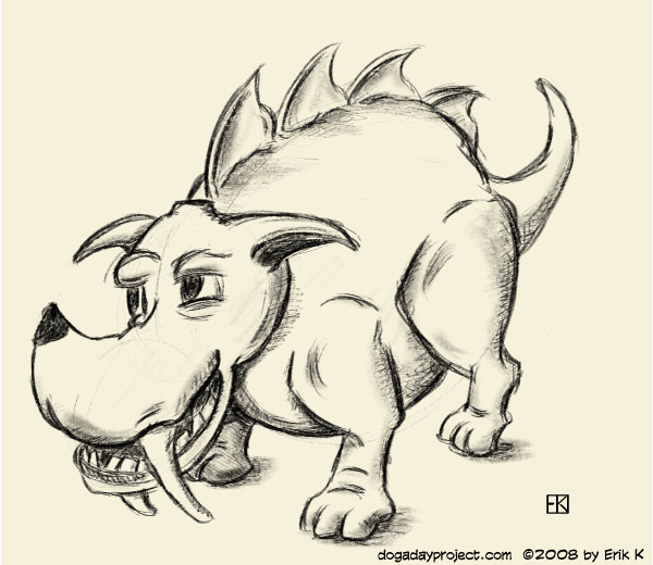 dog a day Prehistoric Dog image