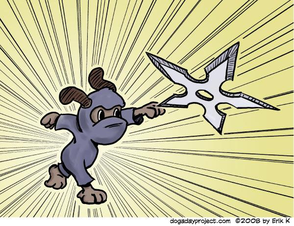 dog a day Ninja Dog image