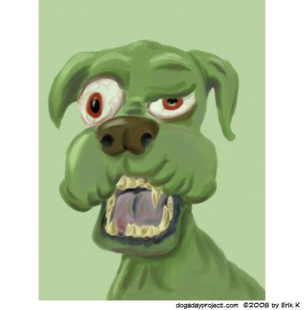 dog a day Zombie Dog image