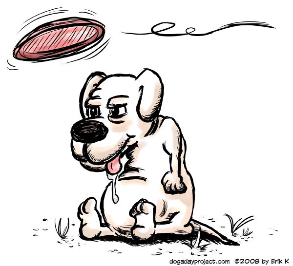 dog a day Drawing a Stupid Dog image
