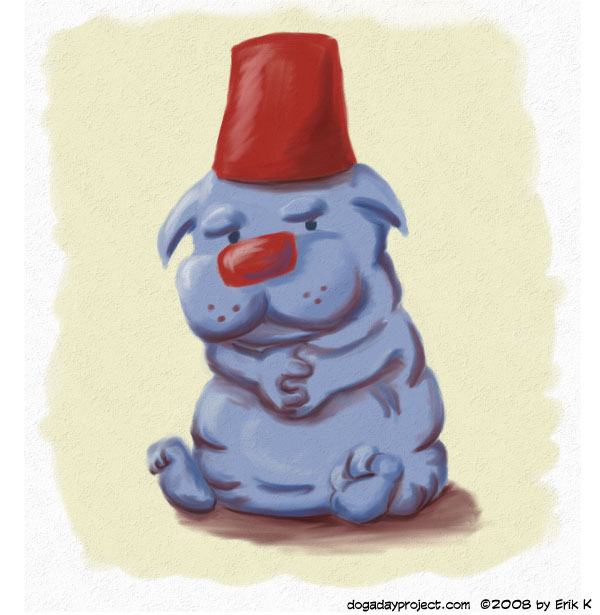dog a day Fat Fez image
