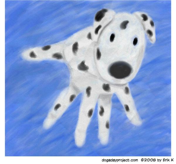 dog a day Handprint Dog image