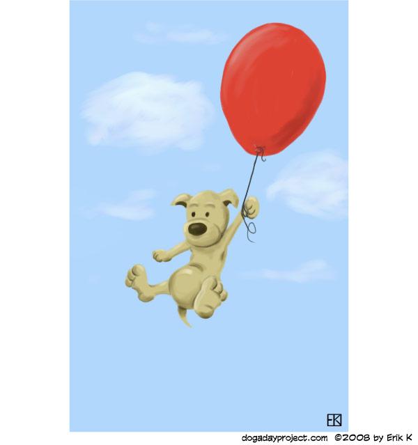 dog a day Balloon Dog image